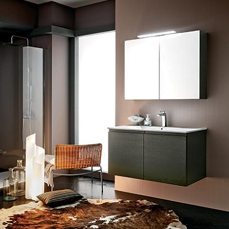 Mobile bagno con specchio contenitore by rab arredobagno for Nuovo arredo sansepolcro