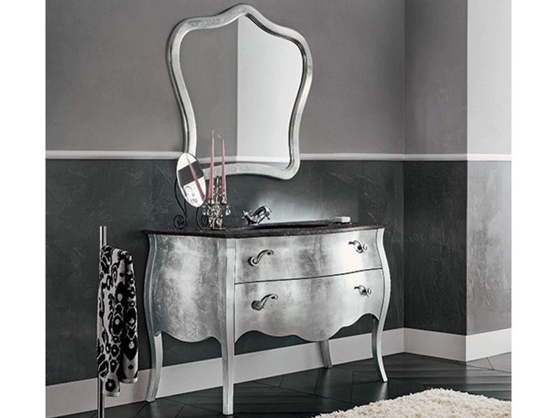 Mobile bagno con top in marmo nero by rab arredobagno - Arredo bagno in marmo ...