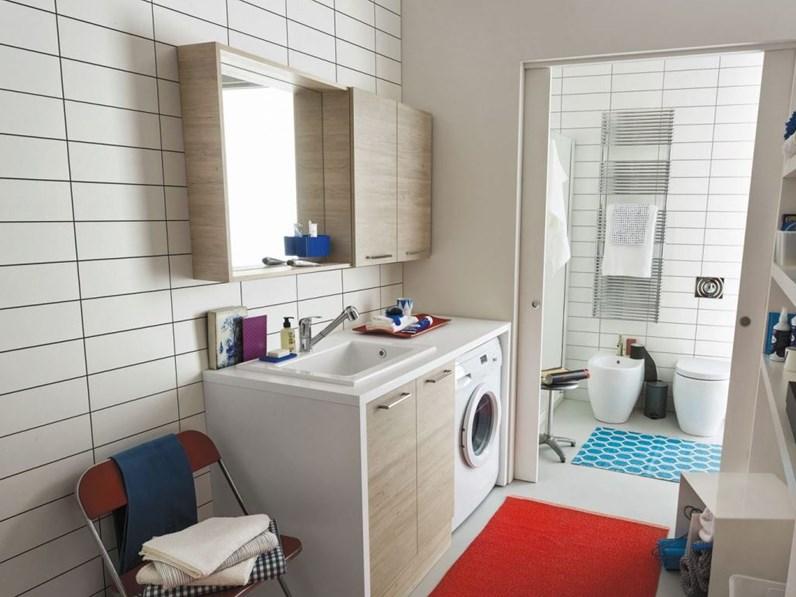 Mobile bagno copri lavatrice Arbi. Prezzo offerta sconto 20%