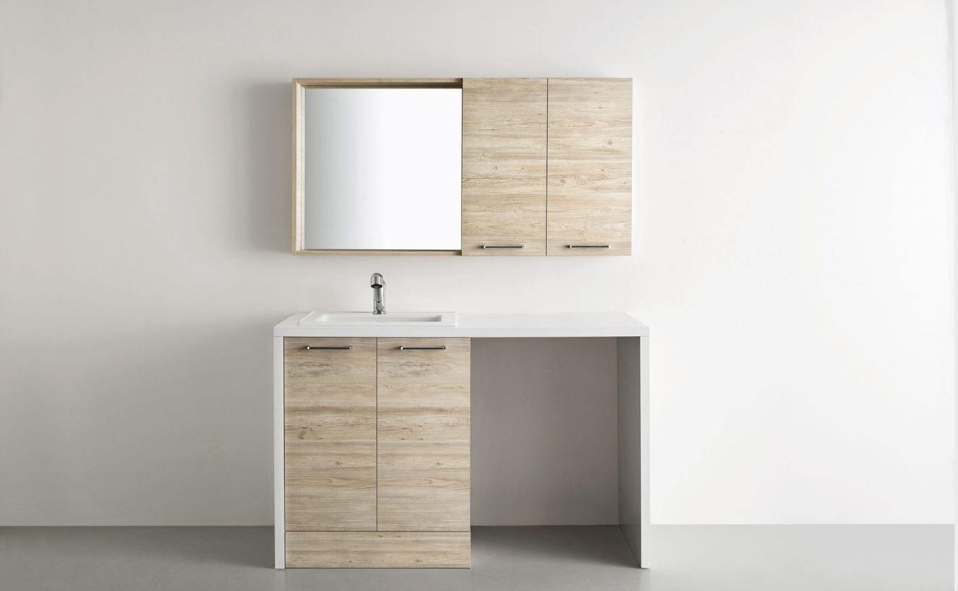 Mobile bagno copri lavatrice arbi prezzo offerta sconto - Mobile coprilavatrice con lavatoio ...