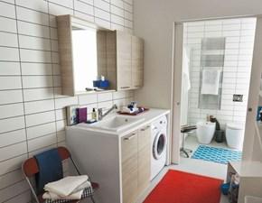 Mobile coprilavatrice con lavello integrato per lavanderia
