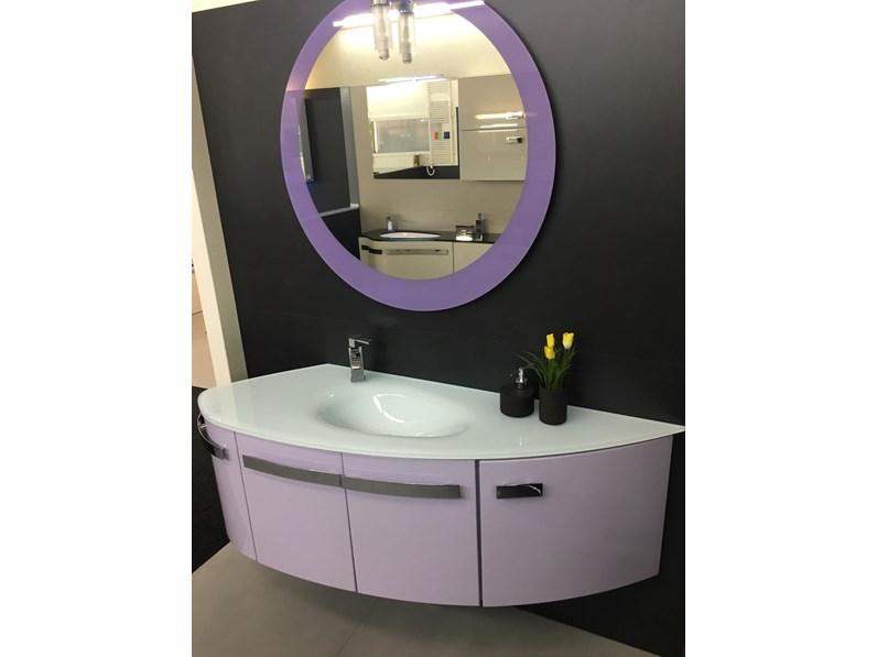 mobile bagno design tondo Arteba scontato del 51%