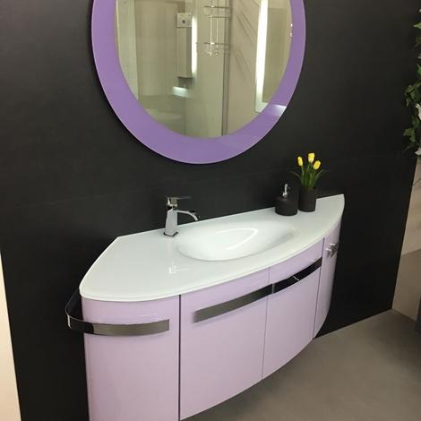Mobile bagno design tondo arteba scontato del 51 arredo for Design scontato