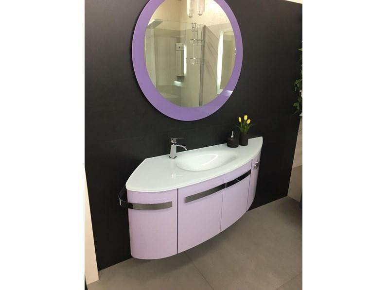 Mobile bagno design tondo arteba scontato del