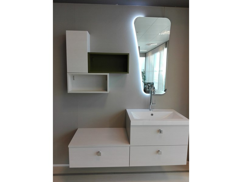 Mobile bagno di corazzin sinergy in offerta outlet for Arredo bagno outlet on line