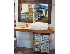 Mobile bagno di Nuovi mondi cucine Mobile bagno wood design industrial IN OFFERTA OUTLET
