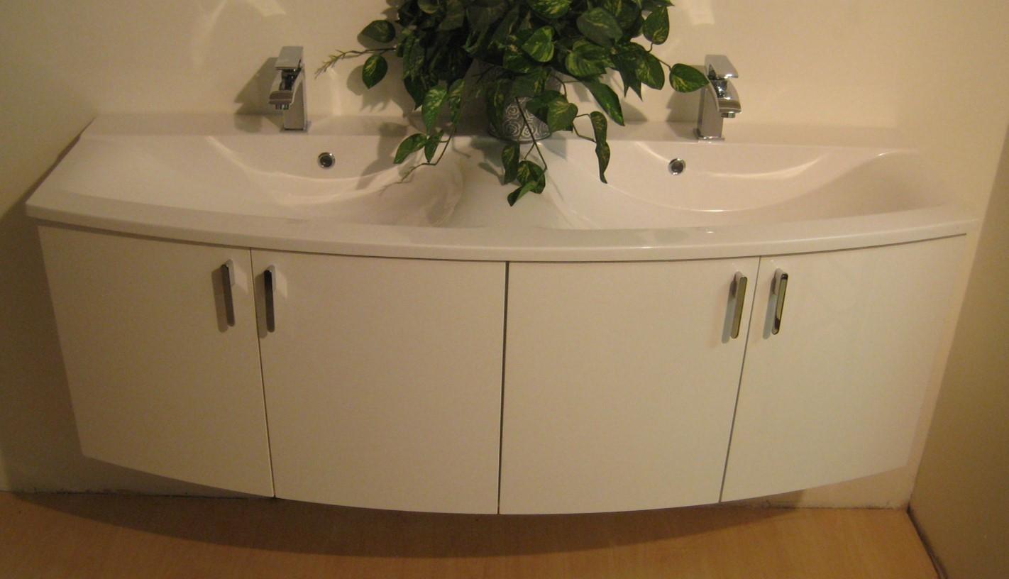 Mobile bagno doppi lavabi arredo bagno a prezzi scontati - Lavabi doppi per bagno ...