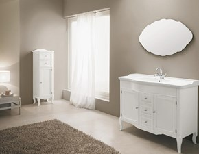 Mobile bagno Eban Serena cm 108 bianco perlato con un ribasso del 30%