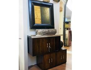 agno etnico in offerta   in  legno massello   convenienza outlet in legno con specchio