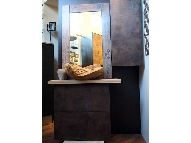 mobile bagno etnico seta bronzo minimal in offerta
