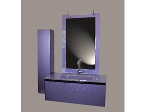 Mobile bagno Euro bagno Fiorilu viola con un ribasso del 56%