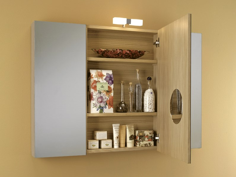 Specchio Armadio Bagno.Mobile Bagno Euro Bagno Specchio Contenitore Con Un Ribasso Del 67