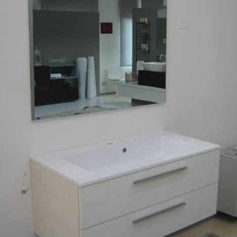 Arlex mobile per bagno con cassetti e top integrato in - Arredo bagno scontatissimo ...
