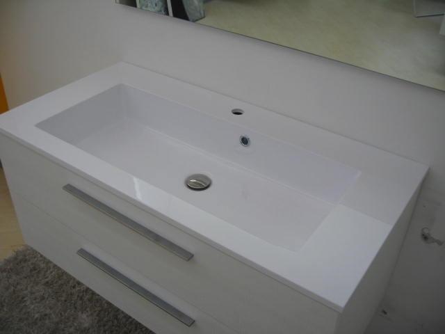 arlex mobile per bagno con cassetti e top integrato in offerta ... - Arlex Arredo Bagno