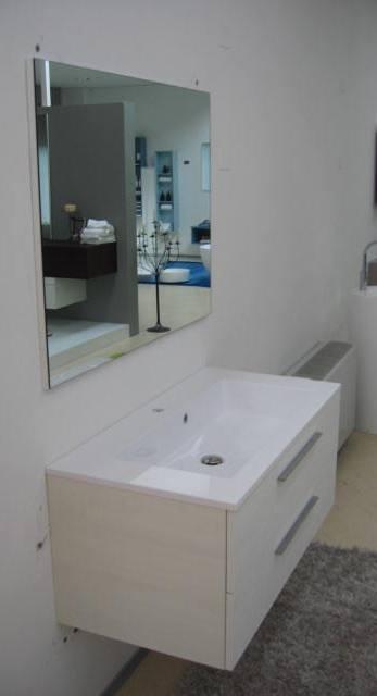 Arlex Mobile per bagno con cassetti e top integrato in offerta - Arredo bagno a prezzi scontati