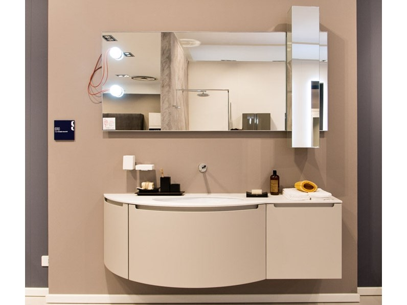 Mobile bagno idro scavolini in offerta outlet for Outlet arredo bagno