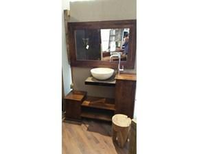 mobile bagno in legno massello indiano etnico in offerta outlet