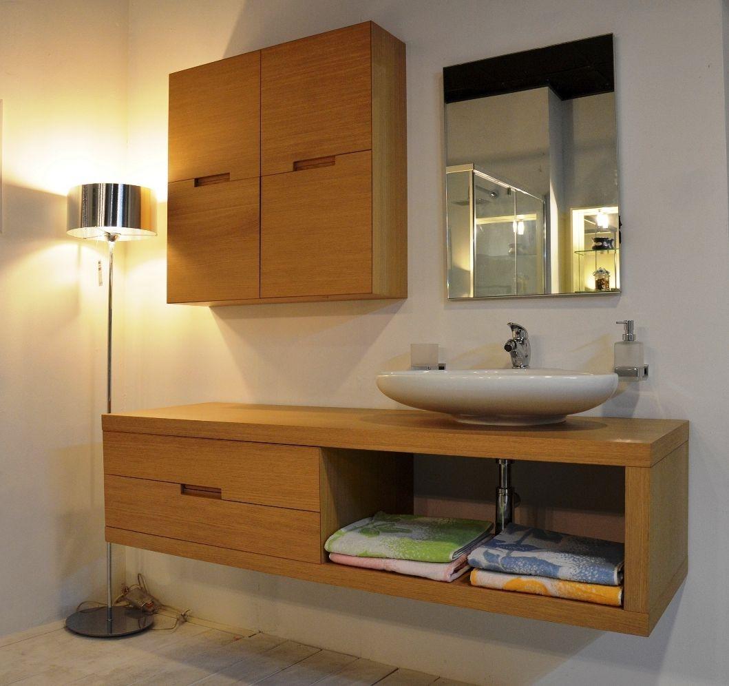 Arredo bagno ufficio design casa creativa e mobili - Mobili bagno in legno ...