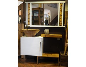 mobile bagno in offerta in legno e crash bambu sconto outlet
