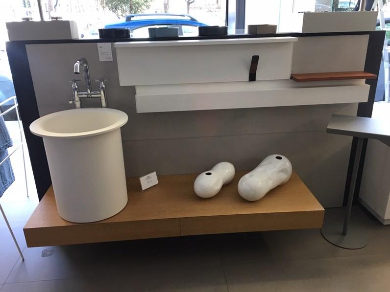 Mobile bagno in out lavabo appoggio agape design scontato 50 for Arredo bagno cagliari
