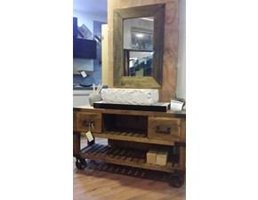 mobile bagno recicle industrial con ruote iron india