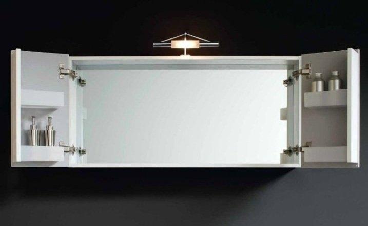 Mobile bagno kubo frassinato arredo bagno a prezzi scontati for Specchio bagno contenitore