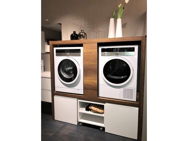 Mobile bagno Lavanderia Colonna geromin porta lavatrice e asciugatrice  Arredi bagno a prezzo scontato