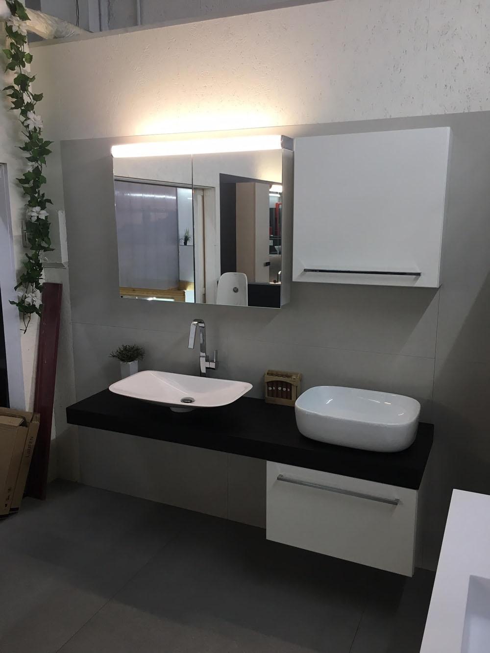 Mobile bagno moderno arteba scontato del 48 arredo for Mobile bagno moderno sfalsato
