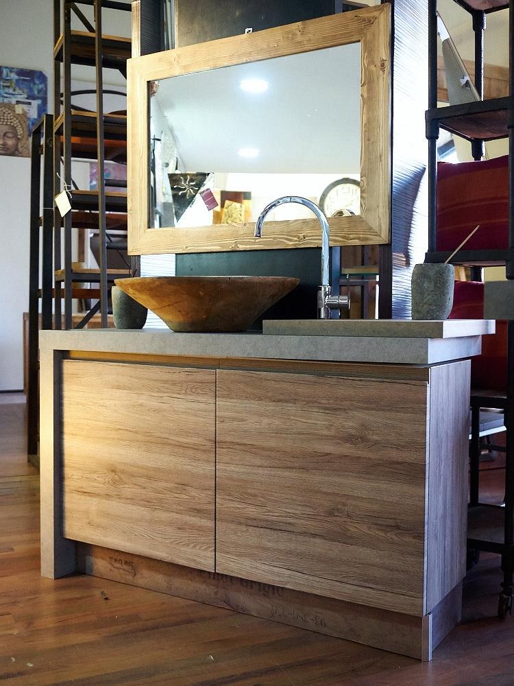 Mobile bagno moderno colore essential rovere in offerta - Mobile bagno etnico ...