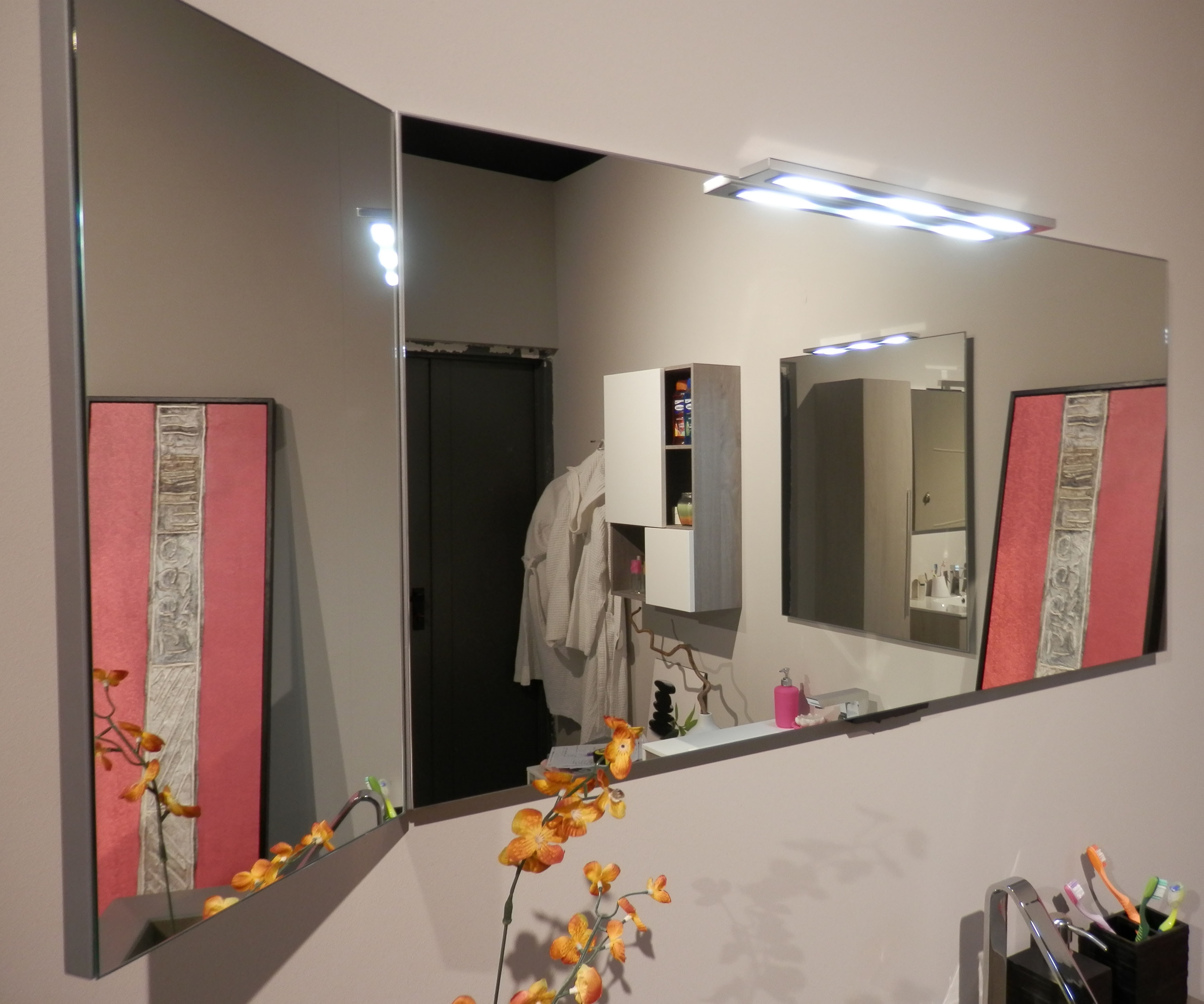 Mobile bagno moderno sospeso - Arredo bagno a prezzi scontati
