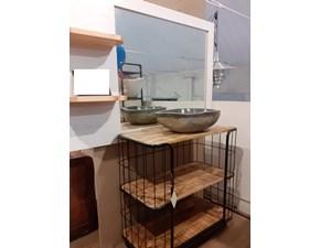 Mobile bagno Nuovi mondi cucine Mobile bagno industrial legno c ruote in offerta con un ribasso imperdibile