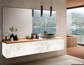 Mobile bagno Nuovi mondi cucine Mobile bagno modern white in offerta   IN OFFERTA OUTLET