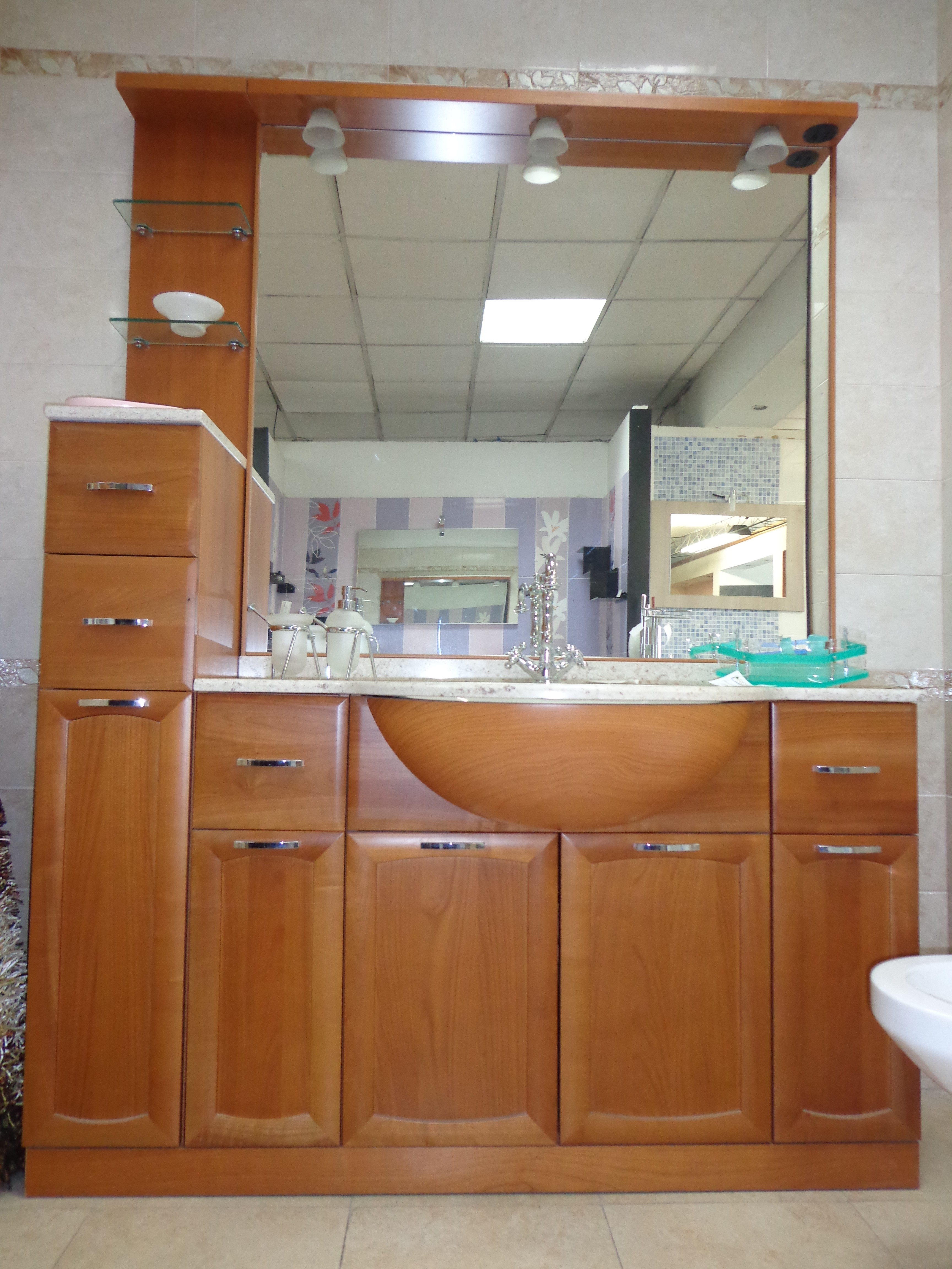 Mobile bagno paloma arredo bagno a prezzi scontati - Mercatone uno specchi bagno ...