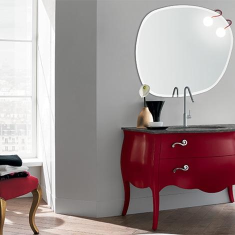 Mobile bagno rosso anticato by rab arredobagno nuovo - Rab arredo bagno ...