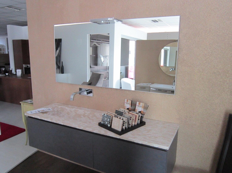 Mobile bagno con top in mosaico arredo bagno a prezzi for Mobili bagno on line scontati