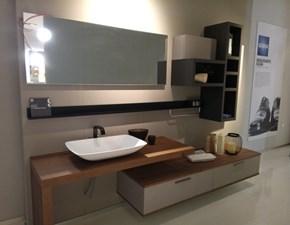 Mobile bagno Sospeso Aquo decorativo Scavolini bathrooms a prezzo ribassato