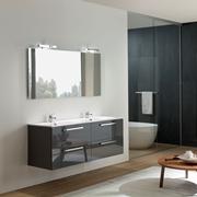 Prezzi arredo bagno laccato lucido in offerta - Mobile bagno doppio lavello ...