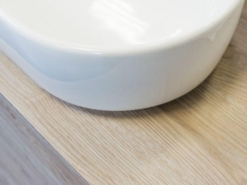 Mobile bagno sospeso ego step rovere talco lavabo in appoggio in offerta - Lavabo bagno sospeso offerta ...