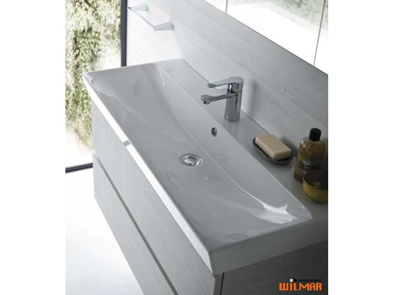 Lavello Bagno Con Mobile.Mobile Bagno Sospeso Mobile Bagno Con Lavello Ceramica Compab A Prezzi Outlet
