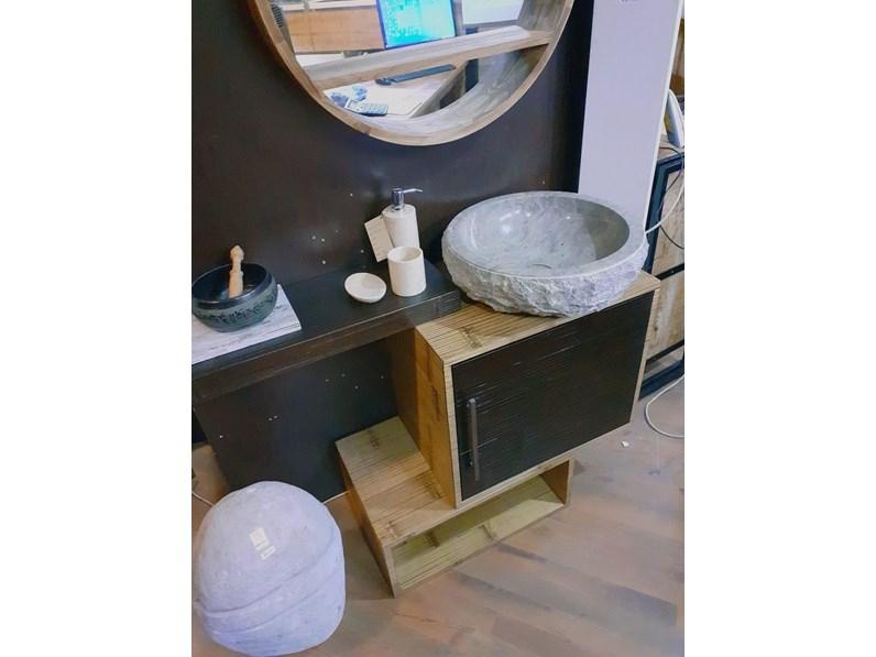 Mobile bagno sospeso mobile bagno minimal etno zen bambu for Mobile bagno minimal