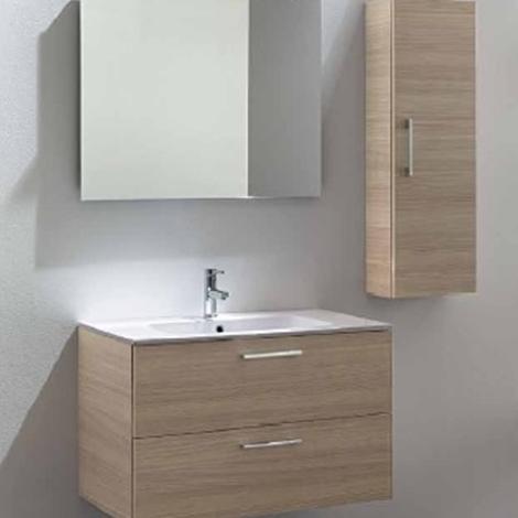 Mobile bagno sospeso cm 90 promozione 03 arredo for Mobili bagno 35 cm