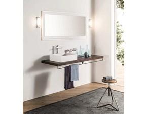 Mobile bagno Sospeso Ruggine 160 Gaia con forte sconto