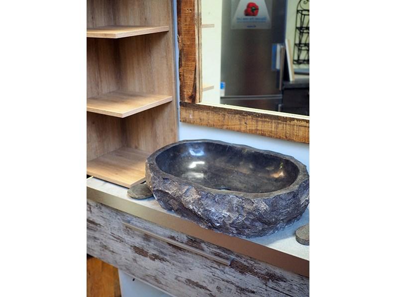 mobile bagno vintage decape\' iroko zen in offerta nuovimondi