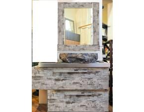 mobile bagno vintage minimal white decape' iroko zen