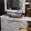 mobile  bagno vintage white decape' iroko zen in offerta