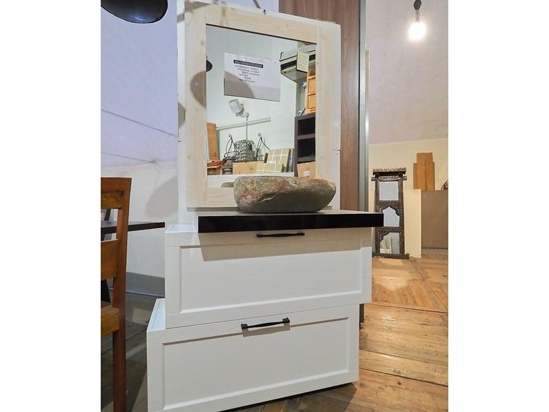 Accessori Bagno Vintage : Mobile bagno vintage white nuovi mondi scontato