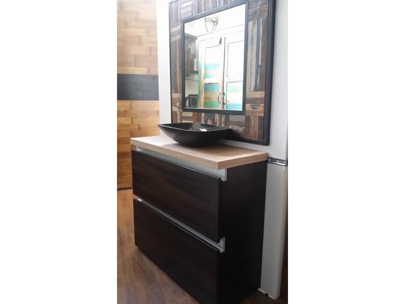 Mobile bagno zen brown con 2 cassettoni da 90 - Arredo bagno zen ...