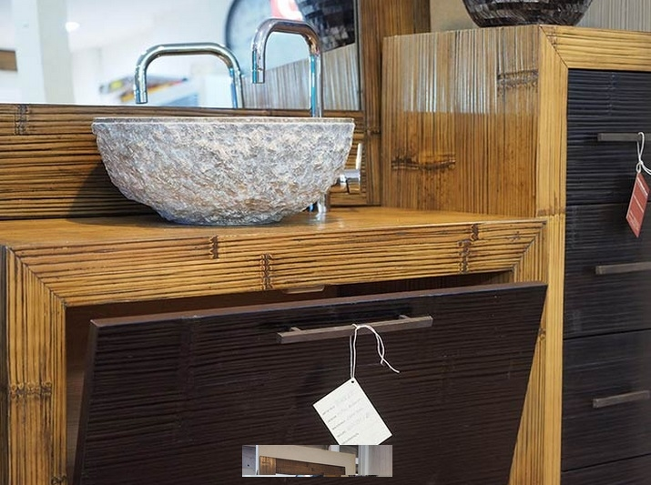 mobile convenienza bagno in crash bambu' - arredo bagno a prezzi ... - Cassettiera Arredo Bagno Prezzi