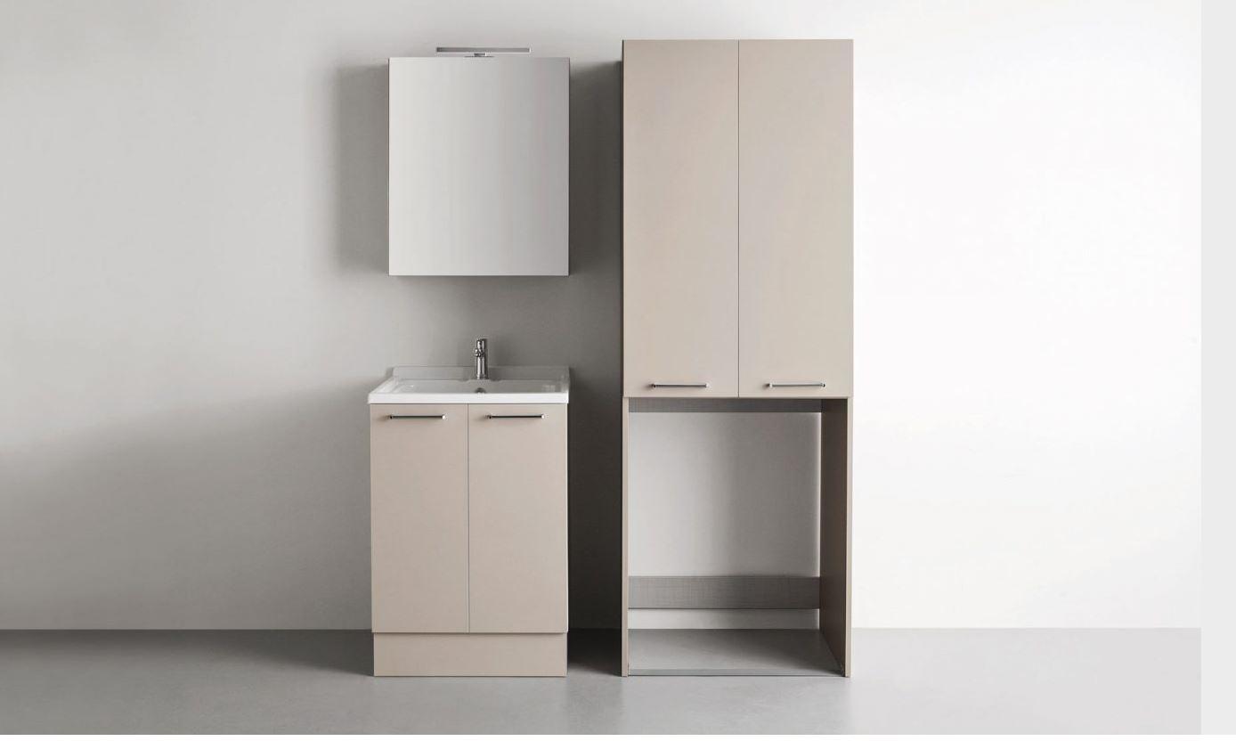 Mobile coprilavatrice lavanderia arbi prezzo offerta for Bricoman arredo bagno