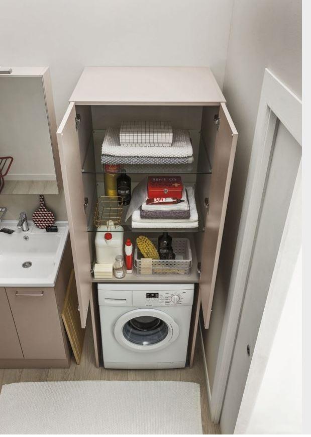 mobile coprilavatrice lavanderia arbi. prezzo offerta scontato ... - Arredo Bagno Coprilavatrice